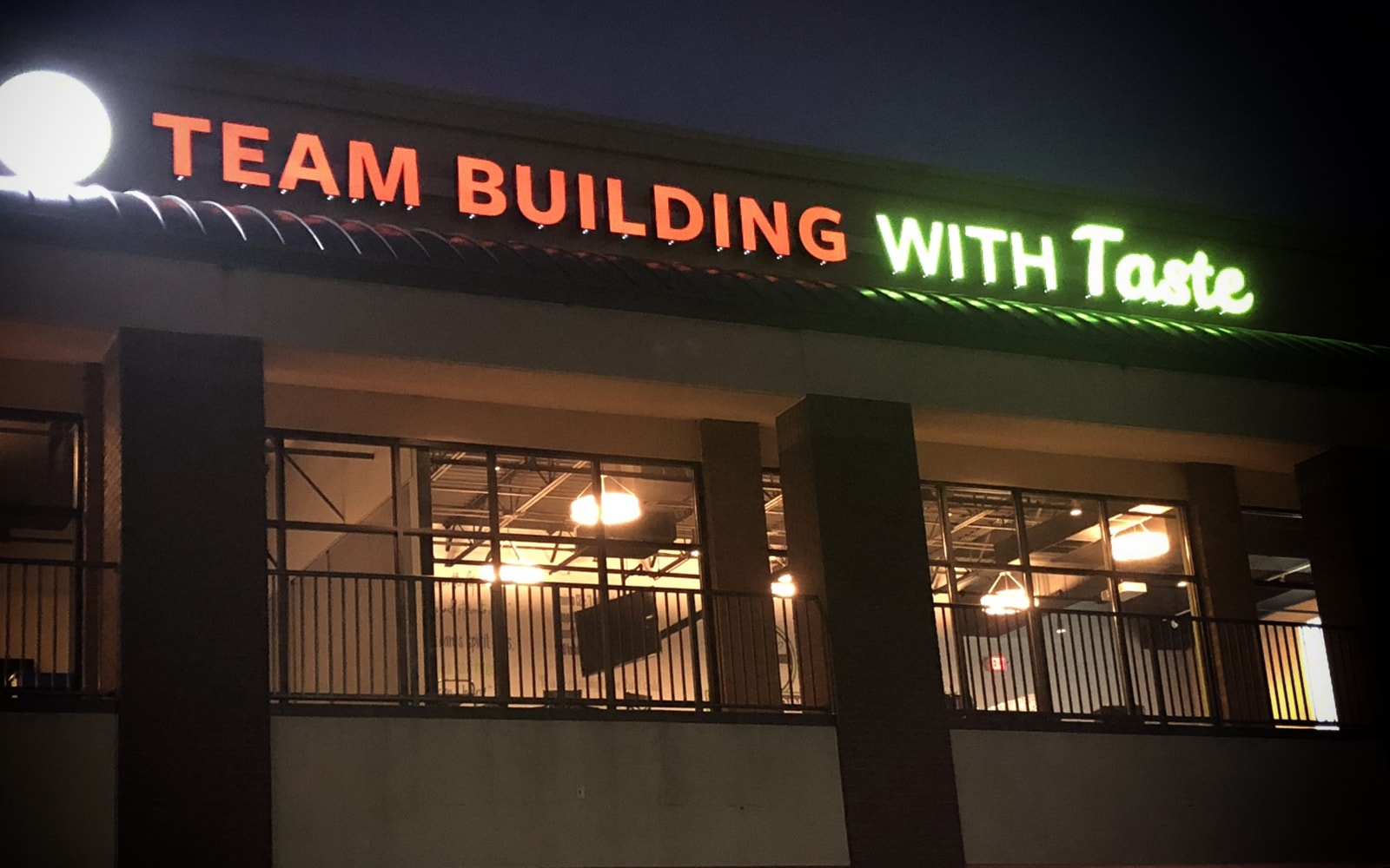 Team Building with Taste