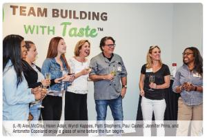 Team Building with Taste, Mammoth Studio 3