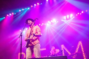 Alex Guthrie belts out favorites like Colorado and Movin' On