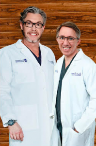 Dr. Ken Anderson and Dr. Daniel Lee of Anderson Center for Hair