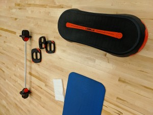BODYPUMP fitness equipment