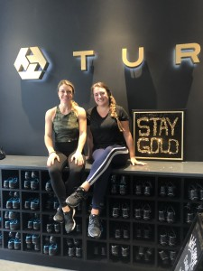 (L to R) Owner and instructor Ashley Francis, Best Self staffer Halen Adair