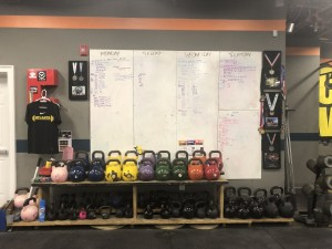 Weight equipment at Atlanta Strength & Conditioning