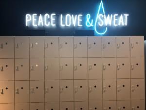 Sweat Shoppe Lockers