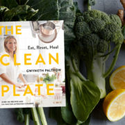 """The cover of Gweneth Paltrow's book, """"The Clean Plate""""."""
