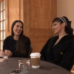 (L to R): Laurie Adornato and Rosina Gil dish on Cirque du Soleil's upcoming show, VOLTA.