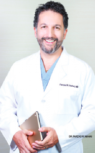 Dr. Farzad R. Nahai inside the Center for Plastic Surgery at MetroDerm, P.C.
