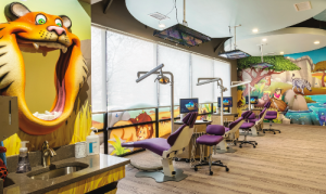 The Colorful Nia Pediatric Dentistry Office