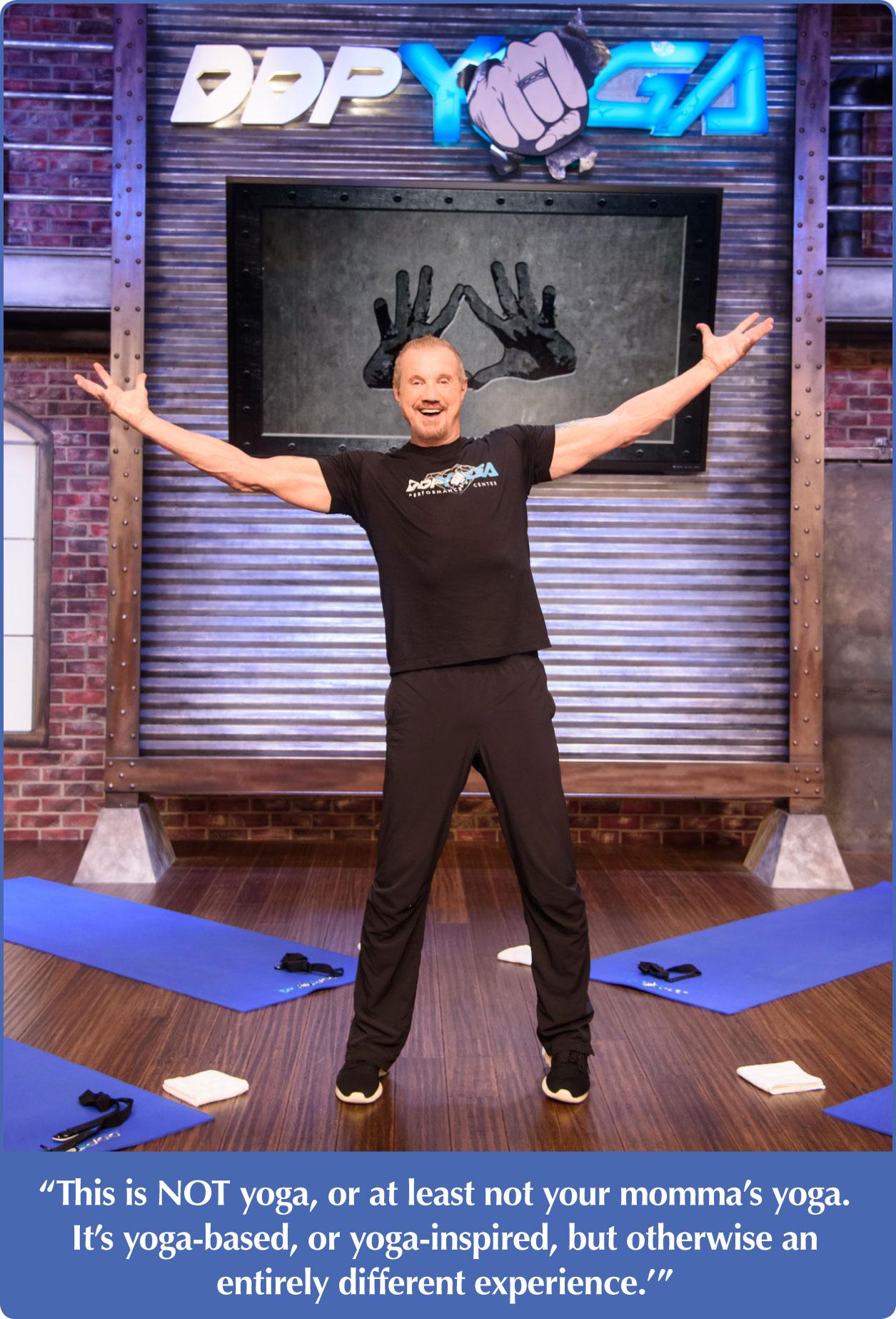 Ddp Yoga Leaving It All On The Mat Best Self Atlanta