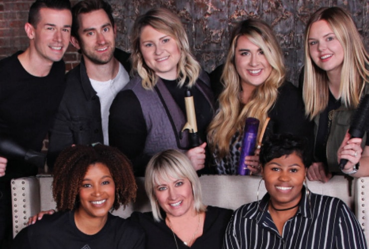 The Team at Bob Steele Salon
