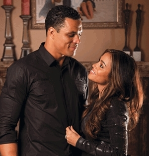 Exclusive interview with Falcons Player Tony Gonzalez and his wife October Gonzalez