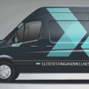 Elite testing and wellness van