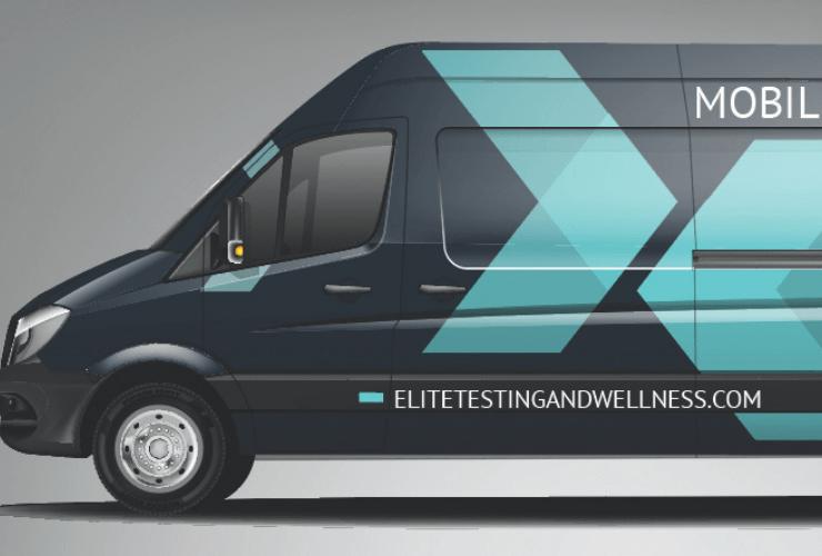 Elite testing and wellness van