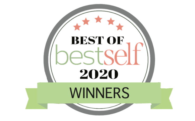Best of 2020 winner ribbon