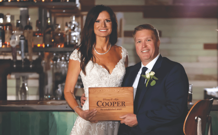 Kim and Tracey Cooper Wedding Day