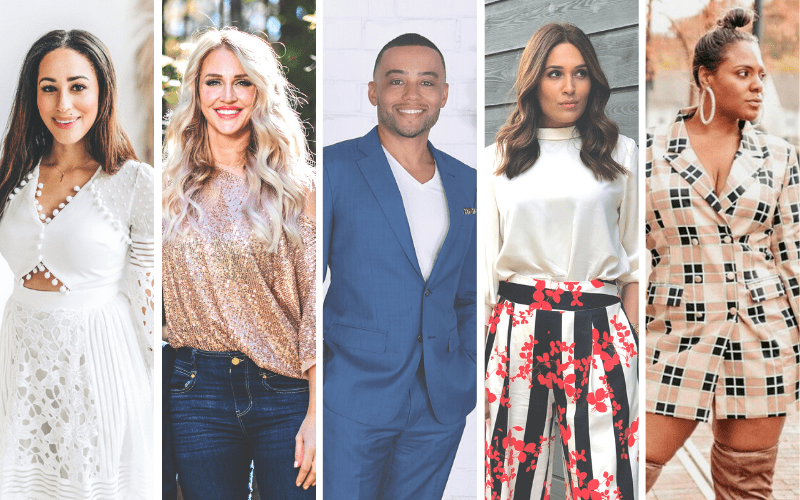 2021 Atlanta Beauty Tour Influencers