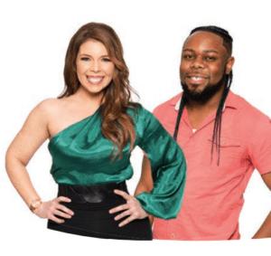 Nisha Lagana and Byron Evans